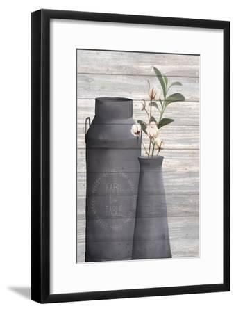 Cotton Days 5-Kimberly Allen-Framed Art Print