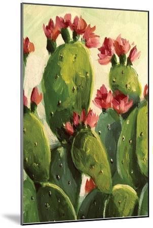 Cactus-Boho Hue Studio-Mounted Art Print