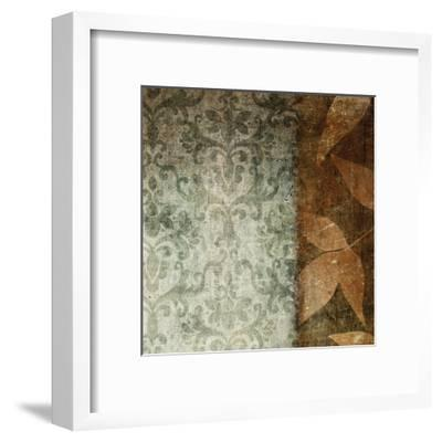 Spice Leaves 1A-Kristin Emery-Framed Art Print