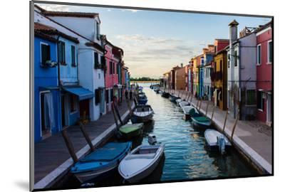 Burano, Venice, Italy, Europe-Mark A Johnson-Mounted Photographic Print