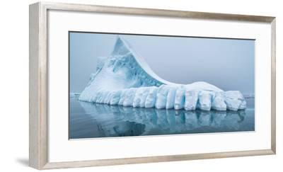 Icebergs floating in the Southern Ocean, Antarctic Peninsula, Antarctica-Panoramic Images-Framed Photographic Print