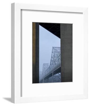 Carquinez Bridge, Crockett, California, USA-Panoramic Images-Framed Photographic Print
