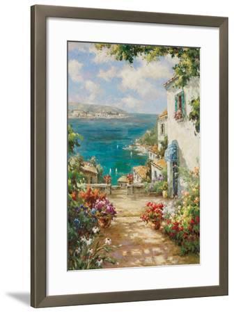 Citta del Mare-Paline-Framed Art Print