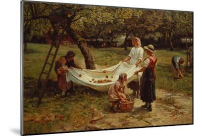 The Apple Gatherers, 1880-Frederick Morgan-Mounted Giclee Print