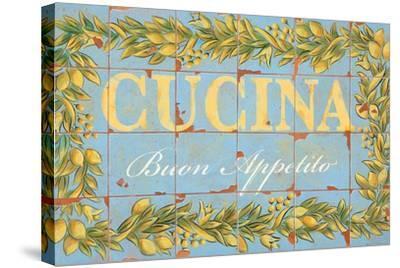 Mediterranean Cucina-Michael Letzig-Stretched Canvas Print