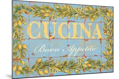 Mediterranean Cucina-Michael Letzig-Mounted Art Print