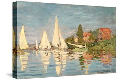 Regatta at Argenteuil, C.1872-Claude Monet-Stretched Canvas Print