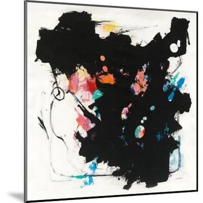 Abstract Redacted-Mike Schick-Mounted Art Print