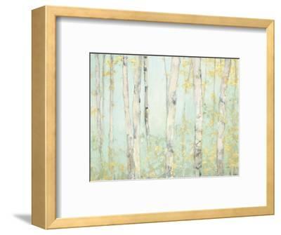 Spring Birches-Julia Purinton-Framed Art Print