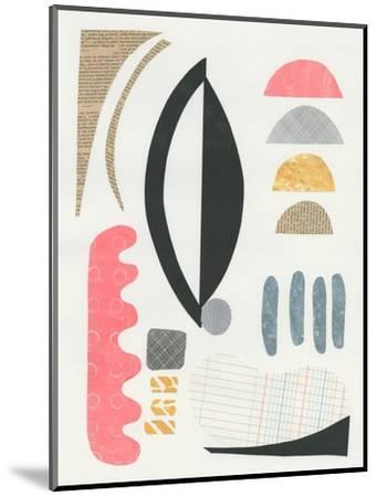 Mixed Shapes II-Courtney Prahl-Mounted Art Print
