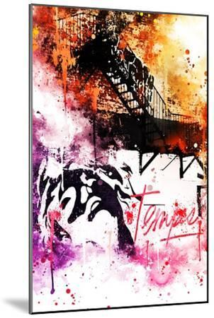 NYC Watercolor Collection - Colors Mind-Philippe Hugonnard-Mounted Art Print