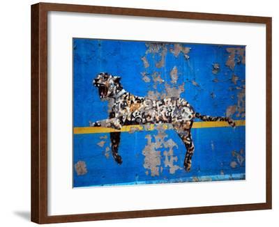 Bronx Zoo-Banksy-Framed Giclee Print