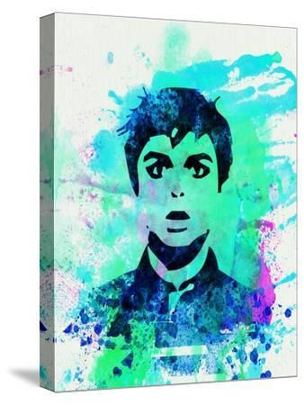 Legendary Green Day Watercolor-Olivia Morgan-Stretched Canvas Print