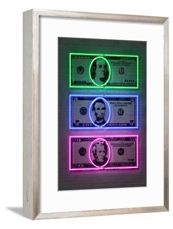Dollars-Octavian Mielu-Framed Art Print