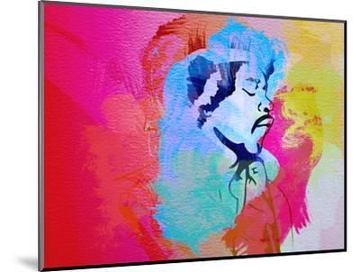 Legendary Hendrix Watercolor-Olivia Morgan-Mounted Art Print