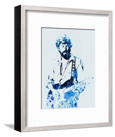 Legendary Eric Clapton Watercolor-Olivia Morgan-Framed Art Print