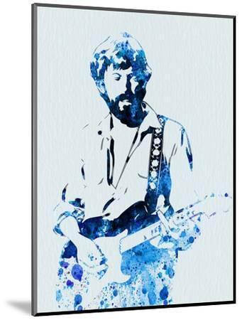 Legendary Eric Clapton Watercolor-Olivia Morgan-Mounted Art Print