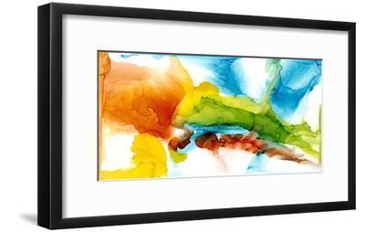 Primary Plume II-Jennifer Goldberger-Framed Art Print