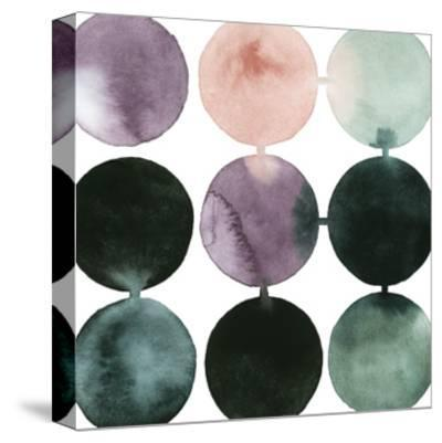 Seafoam Fizz III-Grace Popp-Stretched Canvas Print