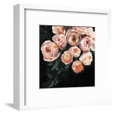 Peachy Blooms II-Victoria Borges-Framed Art Print