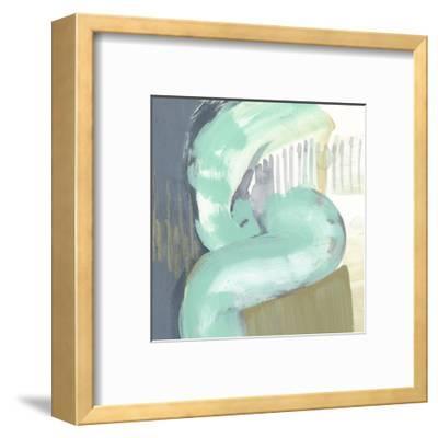 Curvilinear IV-Jennifer Goldberger-Framed Art Print