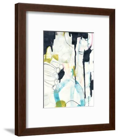 Graffiti Split I-June Vess-Framed Art Print