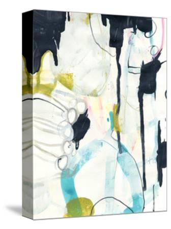 Graffiti Split I-June Vess-Stretched Canvas Print