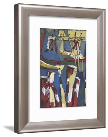 Maine Sails Portland I-Erin McGee Ferrell-Framed Art Print