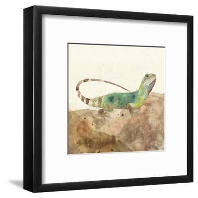 Reptillian I-Alicia Ludwig-Framed Art Print