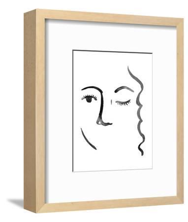 Face in a Crowd IV-Grace Popp-Framed Art Print