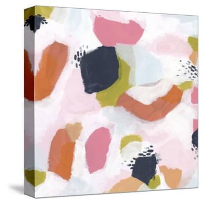 Confetti Currents II-June Vess-Stretched Canvas Print