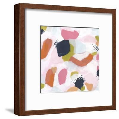 Confetti Currents II-June Vess-Framed Art Print
