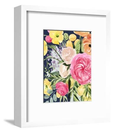 Blossomy Gathering III-Grace Popp-Framed Art Print