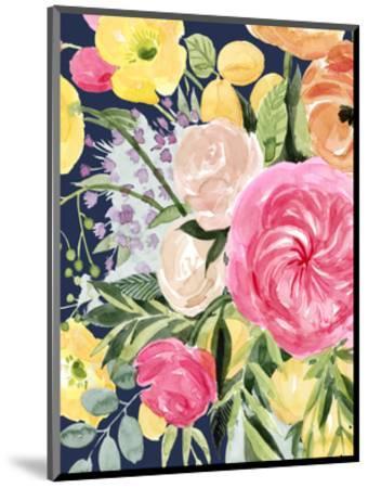Blossomy Gathering III-Grace Popp-Mounted Art Print