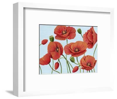 Poppy Topple III-Grace Popp-Framed Art Print
