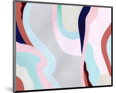 Pastel Highlands VI-Grace Popp-Mounted Art Print