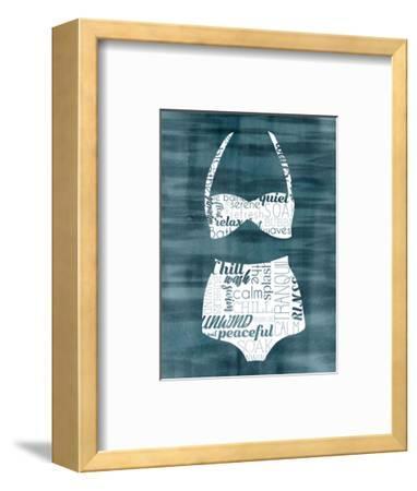Suit Speak III-Grace Popp-Framed Art Print