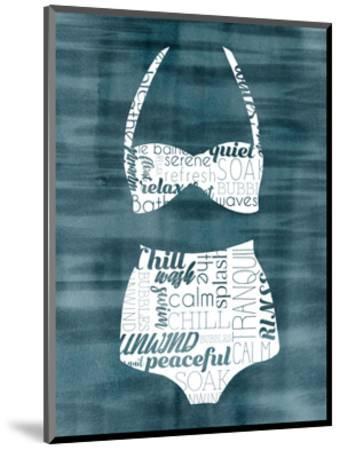 Suit Speak III-Grace Popp-Mounted Art Print