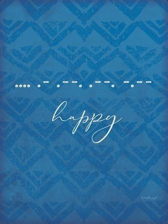 Happy-Jennifer Pugh-Framed Art Print
