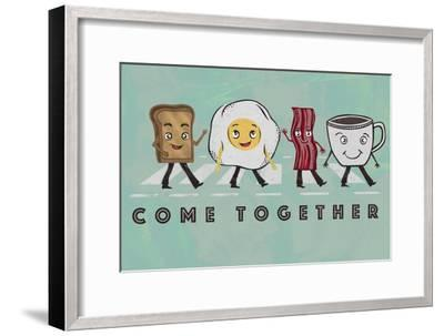Come Together-Longfellow Designs-Framed Art Print