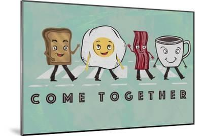 Come Together-Longfellow Designs-Mounted Art Print
