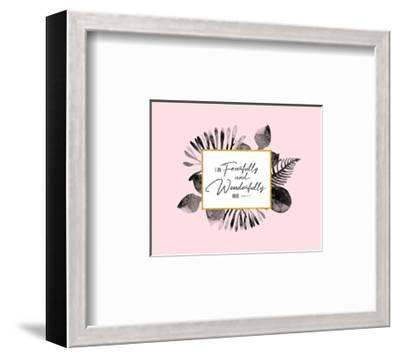 Fearfully and Wonderfully Made-Tammy Apple-Framed Art Print