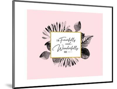 Fearfully and Wonderfully Made-Tammy Apple-Mounted Art Print