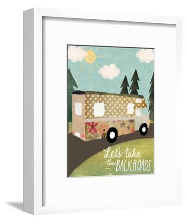 Backroads-Katie Doucette-Framed Art Print