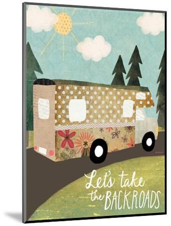 Backroads-Katie Doucette-Mounted Art Print