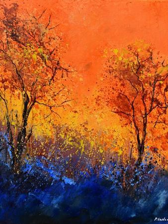 Just two trees-Pol Ledent-Framed Art Print