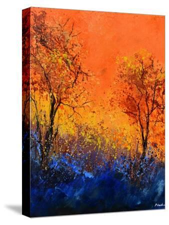 Just two trees-Pol Ledent-Stretched Canvas Print