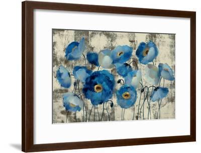 Aquamarine Floral-Silvia Vassileva-Framed Giclee Print