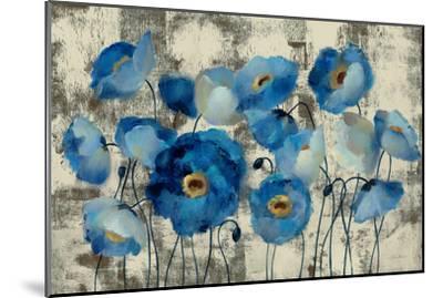 Aquamarine Floral-Silvia Vassileva-Mounted Giclee Print