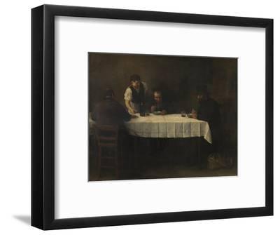 Le Repas des Pauvres-Alphonse Legros-Framed Giclee Print